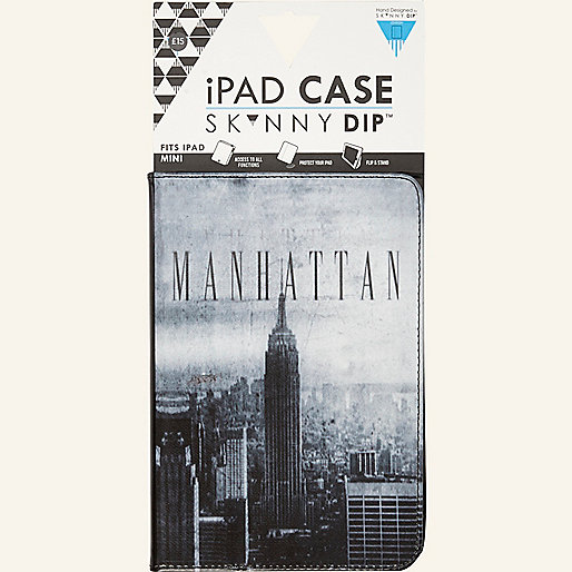 Black Skinnydip Manhattan iPad mini case