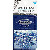Blue Skinnydip Amsterdam iPad mini case