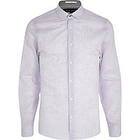 Lilac long sleeve shirt