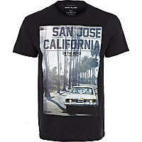 Black San Jose California t-shirt