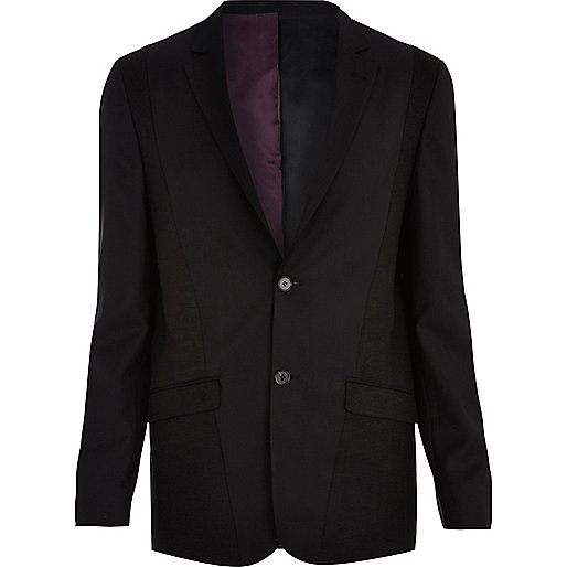 Black Life of Tailor panelled suit jacket