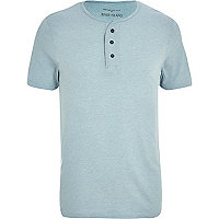 Light blue grandad t-shirt
