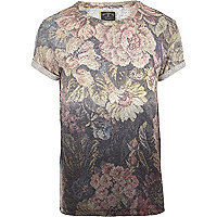 Blue Holloway Road floral neppy t-shirt