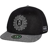 Black American Freshman mesh trucker hat