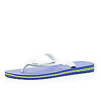 White colour block Havaianas