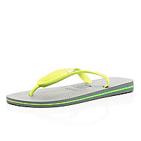 Grey colour block Havaianas