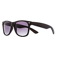 Dark brown retro sunglasses