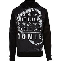 Black Hack million dollar homies hoodie