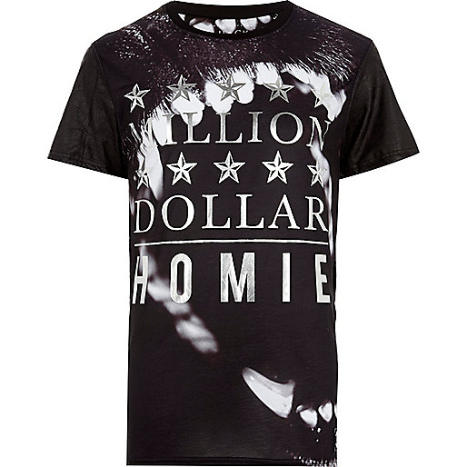 Black Hack million dollar homies t-shirt