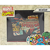Black Marvel Comics M wallet
