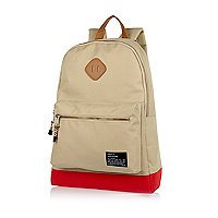 Ecru contrast base backpack