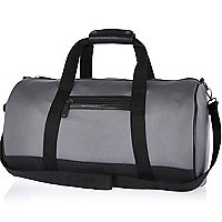 Grey neoprene holdall