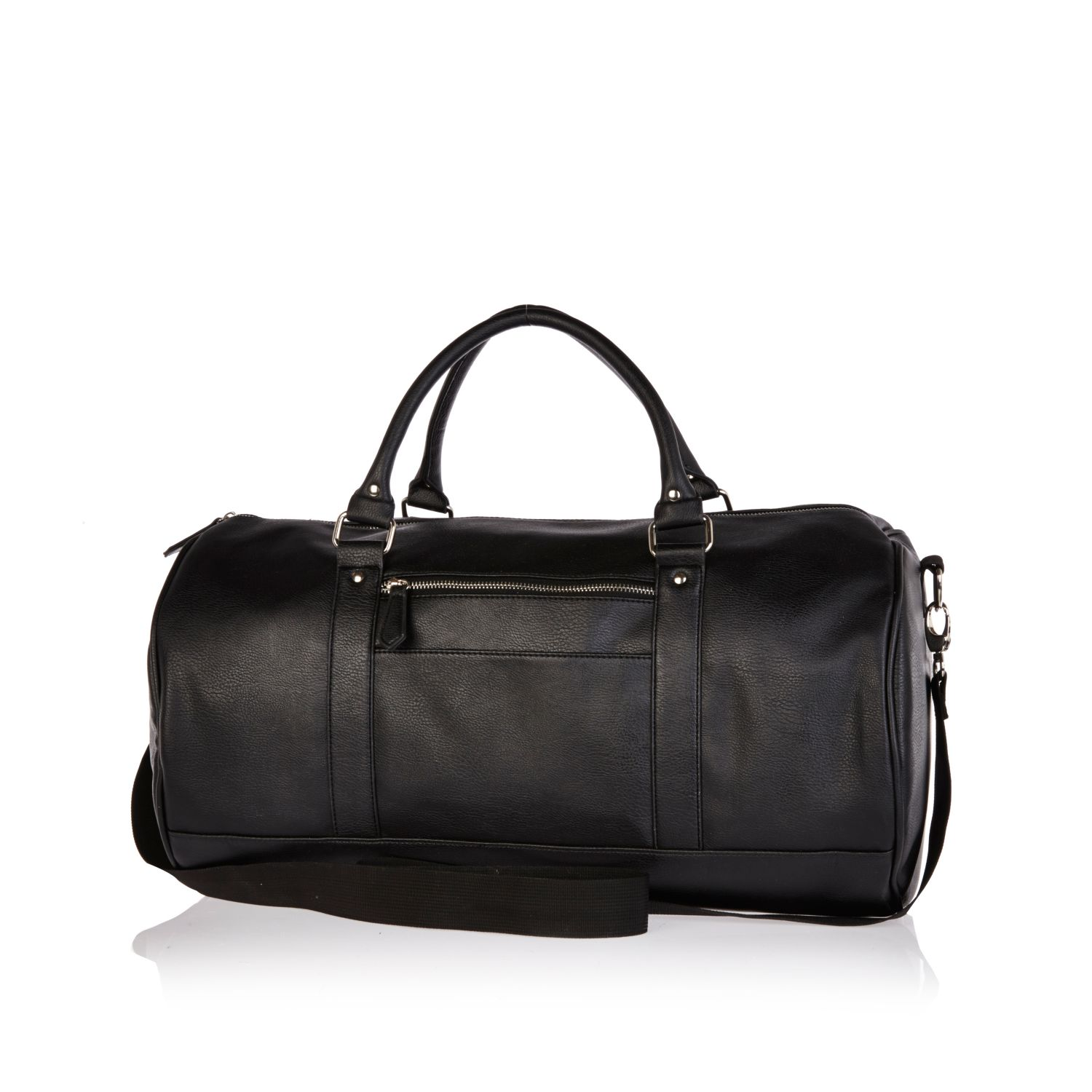 River Island Leather Holdall