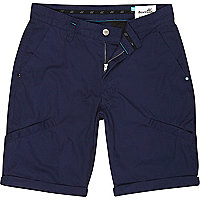 Navy Boxfresh casual shorts