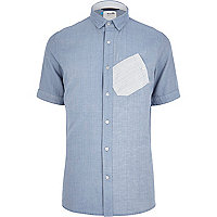 Blue Boxfresh chambray shirt