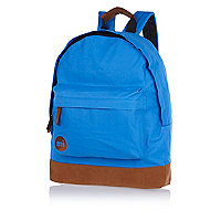 Bright blue MiPac backpack