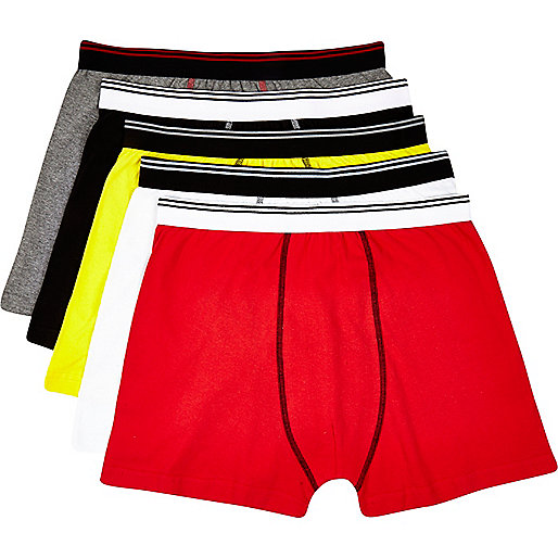 Mixed tipped boxer shorts pack