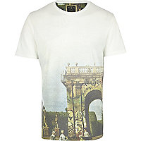 White Holloway Road graffiti print t-shirt