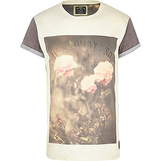 White Holloway Road print t-shirt