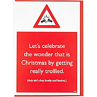 Let's celebrate Christmas card