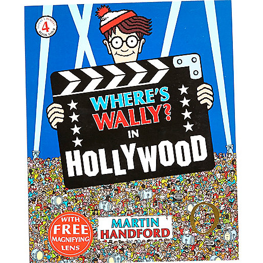 Where's Wally in Hollywood book