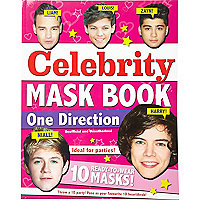 One Direction masks book