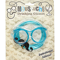 Moustache drinking glasses