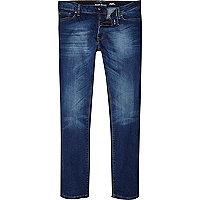 Dark wash Sid skinny stretch jeans