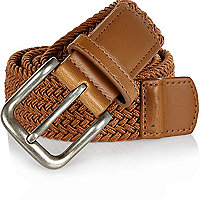 Tan webbing belt