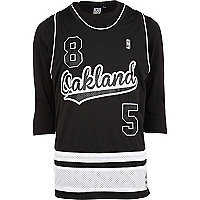 Black Beck & Hersey Oakland baseball t-shirt
