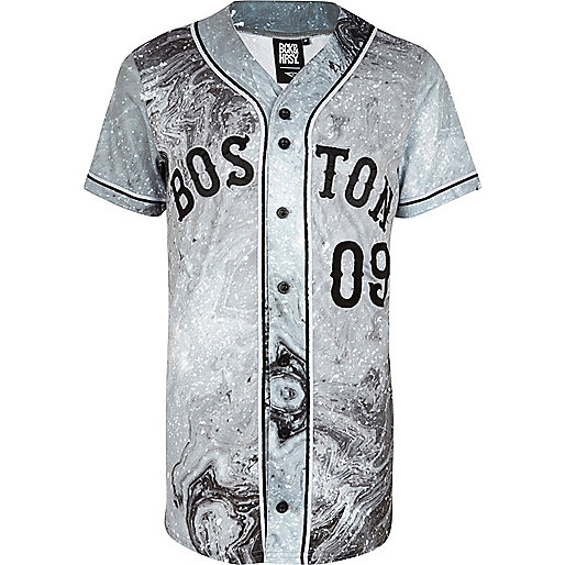 Grey Beck & Hersey Boston baseball t-shirt