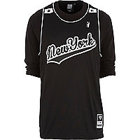 Black Beck & Hersey NY baseball t-shirt