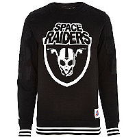 Black Beck & Hersey space raiders sweatshirt