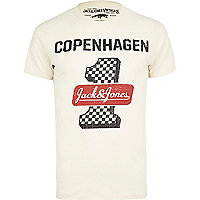 White Jack & Jones Vintage Copenhagen t-shirt