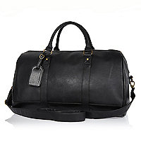 Black weekend holdall