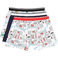 Mixed toy print boxer shorts pack