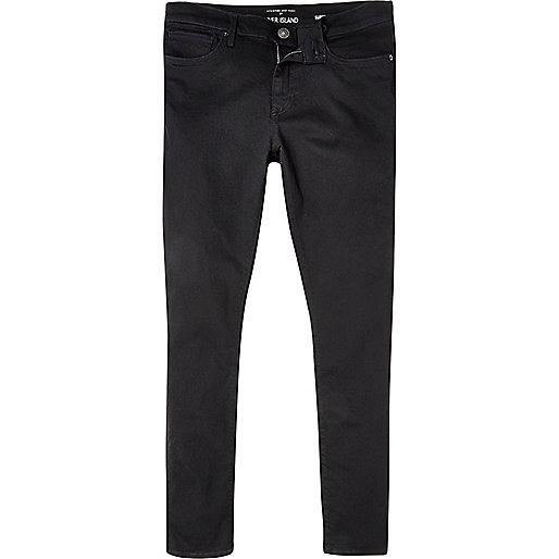 Danny – Schwarze, superenge Skinny Jeans