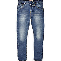 Light wash Chester tapered jeans