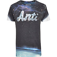 Blue Anticulture galaxy print t-shirt