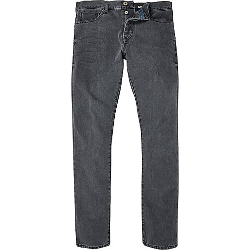 Dark grey Dylan slim jeans