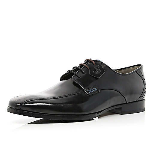 Black patent Oliver Sweeney formal shoes