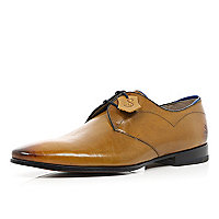 Brown Oliver Sweeney pointed formal shoes