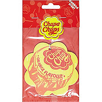 Chupa Chups orange air freshener