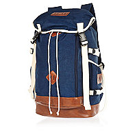 Navy blue utility backpack