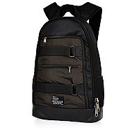 Black skater backpack
