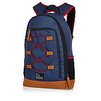 Navy camping backpack