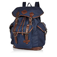 Navy utility backpack