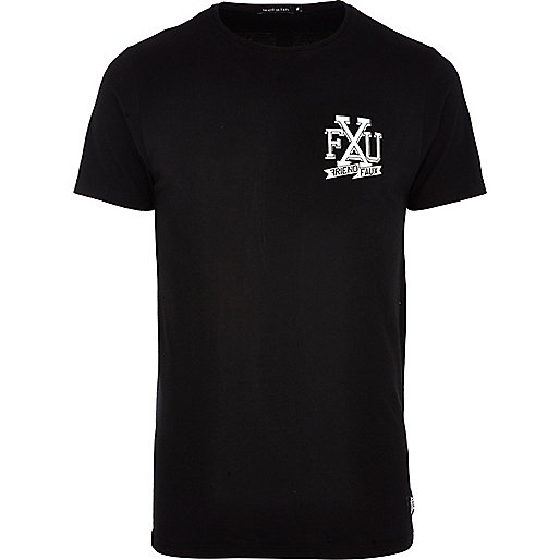 Black Friend or Faux logo print t-shirt