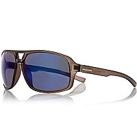Brown frosted sunglasses