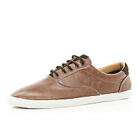 Light brown plimsolls